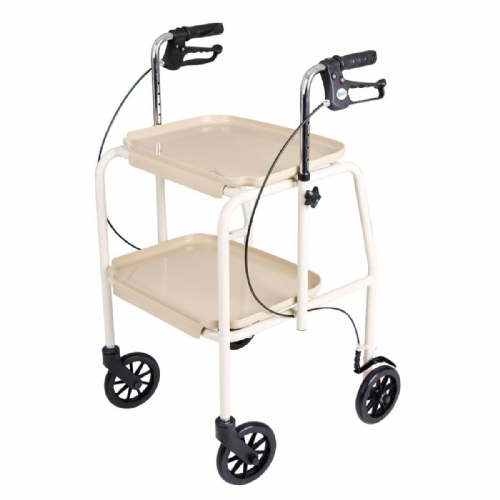 Days 109 Walker Tea Trolley With Loop Brakes